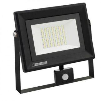 Прожектор світлодіодний з датчиком руху 50W