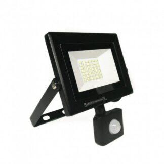 Прожектор світлодіодний з датчиком руху 30W