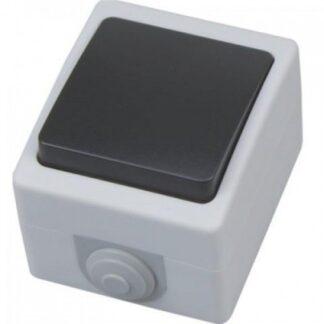 Вимикач накладний 1-клавішний АТОМ