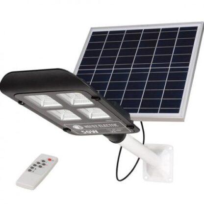Світильник вуличний консольний на сонячній батареї 100 W
