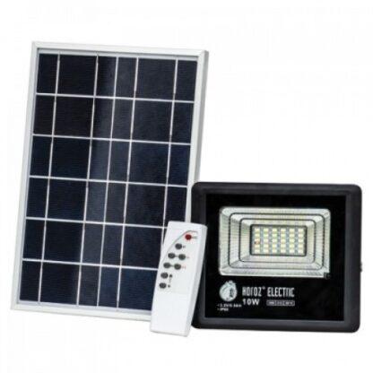 Прожектор світлодіодний на сонячній батареї 10W
