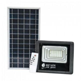 TIGER-25 прожектор світлодіодний на сонячній батареї 25W