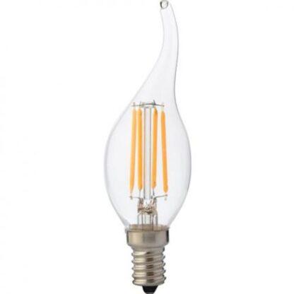 """Лампа світлодіодна """"Filament flame - 4"""" 4W свічка"""