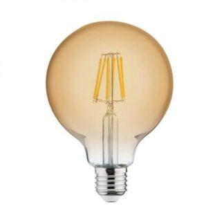 """Лампа вінтажна світлодіодна """"RUSTIC GLOBE-6"""" 6W Filament led 2200К E27"""