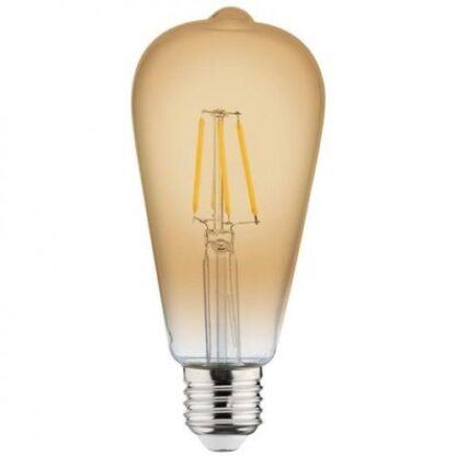 "Лампа вінтажна світлодіодна ""RUSTIC VINTAGE-6"" 6W Filament led 2200К E27"