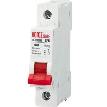 """Автоматичний вимикач """"SAFE"""" 25А 1P В"""