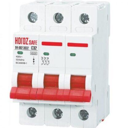"""Автоматичний вимикач """"SAFE"""" 32А 3P С"""