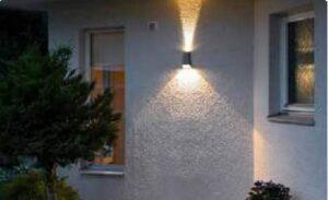 Фасадні світильники